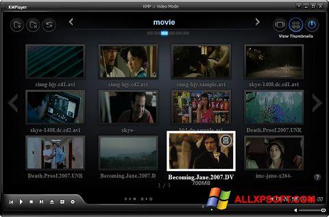Screenshot KMPlayer Windows XP