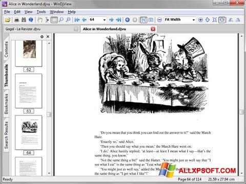 Screenshot DjView Windows XP