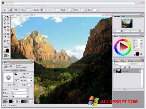 Screenshot Artweaver Windows XP